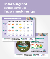 Intersurgical anaesthetic face mask range